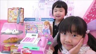 ★Licca-chan´s convenience store★「リカちゃんコンビニおさつスイッとレジスター」で遊んだよ★