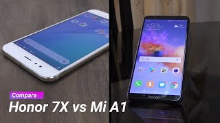 Honor 7X vs Mi A1 comparison - so which one should you buy?