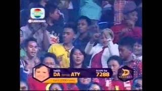 Aty - Mata Hati - Konser Final 8 Besar - DAcademy Indonesia