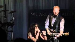 3. Without You - We Are The Fallen (live at Cirque Des Damnes)