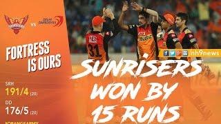 SRH vs DD 2017 Highlights | Sunrisers Hyderabad Vs Delhi Daredevils 2017 Highlights | NH9 News