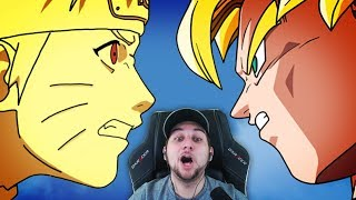 "THE ULTIMATE CROSSOVER!! | Kaggy Reacts Naruto Ball Z Shippuden - ""Heroes Come Back"""