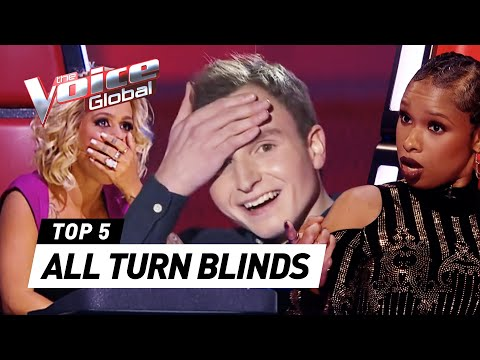 The Voice Best ALL TURN Blind Auditions worldwide PART 3