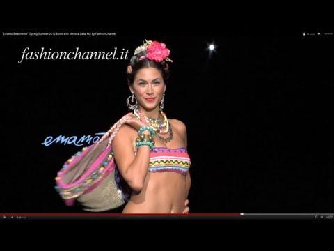 Xxx Mp4 Quot Emamò Beachwear Quot Spring Summer 2012 Milan With Melissa Satta HD By FashionChannel 3gp Sex