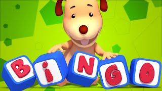BINGO | 3D Nursery Rhymes | Baby Songs | Childrens & Kids Video by Farmees S01E39