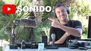 Cómo hacer vídeos para youtube | Ep.1 | SONIDO | Micrófonos y aparatos