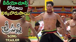 ఈ వీడియో చూస్తే రోమాలు నిక్కబొడుస్తాయి || Srivalli Song Trailer 2017 || Latest Telugu Movie 2017