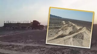 Truck Driver Drives Over And Ruins 3 Nazca Lines Geoglyphs In Southern Peru