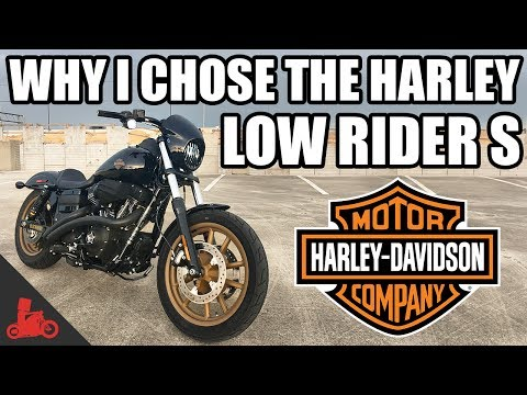 Why I Chose The Harley Dyna Low Rider S