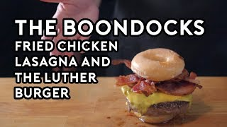 Binging with Babish: Fried Chicken Lasagna & The Luther Burger from the Boondocks