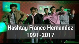 Hashtag Franco - Hashtag (Show Me) dance with fellow Hashtags [LAST RECORDED VIDEO]