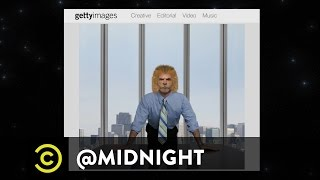 Stock Photo Job Search - Russian Mortician on LSD - @midnight with Chris Hardwick