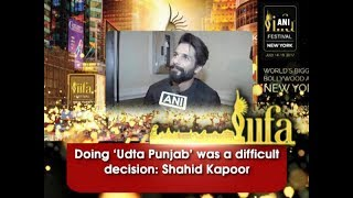 Doing 'Udta Punjab' was a difficult decision: Shahid Kapoor - Bollywood News
