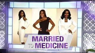 Thursday on 'The Real': The Cast of 'Married to Medicine'
