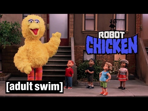 The Best of Sesame Street Robot Chicken Adult Swim