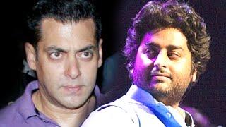 OMG! Salman Khan UPSET with Arijit Singh | SpotboyE