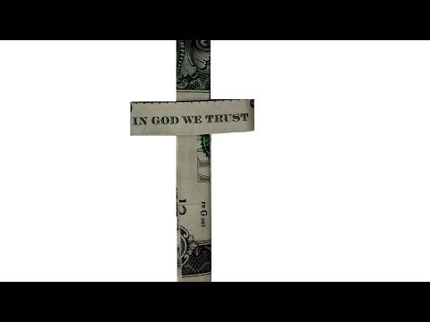 Dollar Origami Cross Tutorial - How to fold a Dollar Cross with