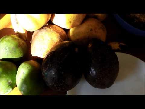 Sugar Cane, Wild star fruits, Water melon and vegan healing for a Tanzanian friend..!