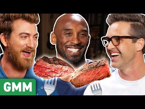 Can Kobe Bryant Guess Kobe Beef Vs. Cheap Beef GAME