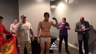 Tilek mashrapov vs Leandro Buscape Silva (Тилек Машрапов)