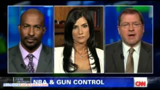 Dana Loesch rips Leftist Piers Morgan and Commie Van Jones on gun control