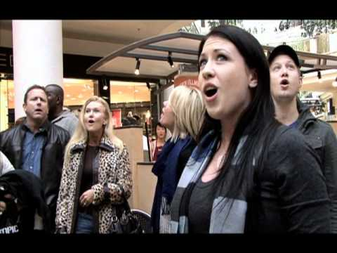 Christmas Flash Mob by Journey of Faith at South Bay Galleria official video