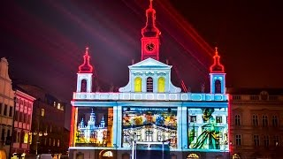 Rich AUDIOVISUAL SHOW 750th Anniversary of Budweis - videomapping, lasers, aerial dance, fireworks