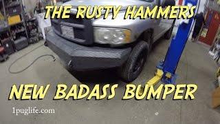 Cummins Bumper ~ featuring Blackvue DashCam and Auxbeam Light Bar