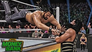 WWE 2K16 Money in the Bank 2016 - Roman Reigns vs Seth Rollins WWE World Heavyweight Championship!
