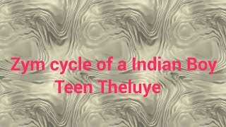 Zym Cycle Of a Indian Boy | Teen Theluye