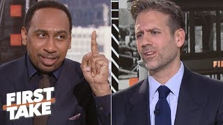 Stephen A. accuses Max of overreacting to Nick Foles, Eagles' win vs. Rams   First Take