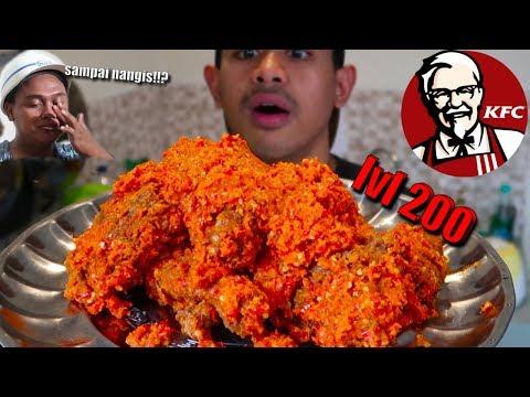 NANGIS MUKBANG KFC BALADO PADANG LV 200 ALA TANBOY KUN FT BM BOIS