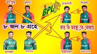 আইকন নিয়ে আর কোনো ঝামেলা নেই, চুড়ান্ত হল ৮ দলের আইকন  BPL 2017 | Mashrafe in Rangpur | Shakib in BPL
