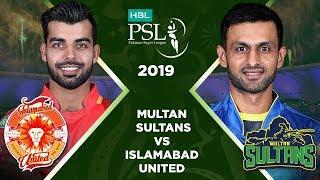 Match 16: Full Match Highlights Multan Sultans Vs Islamabad United | HBL PSL 4 | HBL PSL 2019