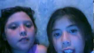 videos  webcam  de cele y cami - Jejeje