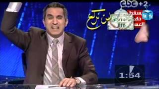 Bassem Youssef and  2012 in under one minute!