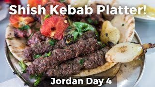 Shish Kebabs Meat Platter in Jordan!