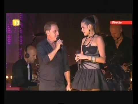Natalia Jimenez y Franco De Vita Tan sólo tú concierto 20aniversario Cadena100