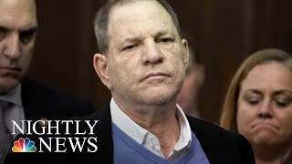 Harvey Weinstein Surrenders To Police, Facing Charges Of Rape & Criminal Sex Acts | NBC Nightly News