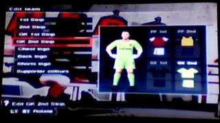 PES 2009 [Ps2 Created Badges & Overhaul on Edit Mode]