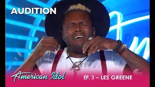 Les Greene: Baltimore Boy Goes FULL FORCE On 'Change Is Gonna Come' | American Idol 2018