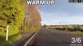 45 Minute Indoor Trainer Workout Mosgiel to Outram (loop) Version 2.0