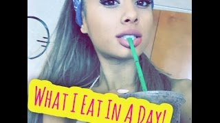 Ariana Grande - What I Eat in A Day + Exercise || Vegan Diet