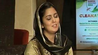Harshdeep Kaur Sings The Gurbani During The Cleanathon