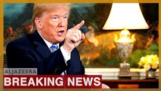 Trump Says Iran 'made Very Big Mistake' After Downing Of US Drone