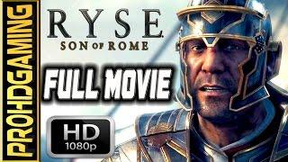 Ryse: Son of Rome (PC) I The Movie I Gameplay Walkthrough I Centurion Difficulty [Full HD]
