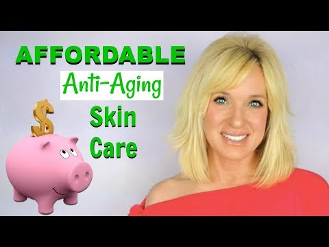 Best AFFORDABLE Anti-Aging SKIN CARE! Look Younger On A BUDGET