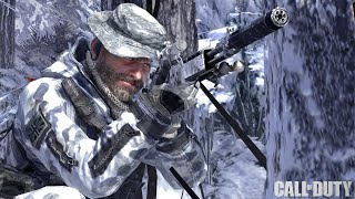 Call of Duty Modern Warfare 2 - Contingency Sniper Mission Veteran Gameplay