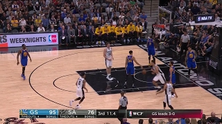 Quarter 3 One Box Video :Spurs Vs. Warriors, 5/21/2017