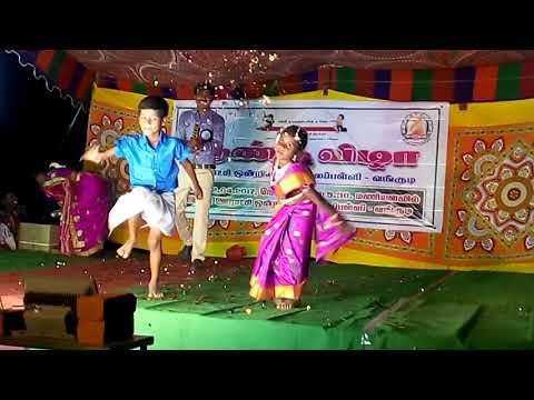 Xxx Mp4 2nd Std Girl P U M School Vangudi Tamil Folk Dance Panchu Mittai Annual Day 2017 3gp Sex